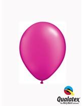 "Qualatex Pearl 5"" Magenta Latex Balloons 100pk"