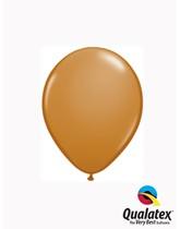 """Qualatex Fashion 5"""" Mocha Brown Latex Balloons 100pk"""