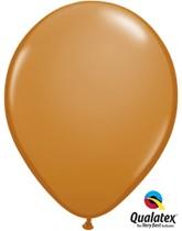 """Qualatex Fashion 11"""" Mocha Brown Latex Balloons 100pk"""