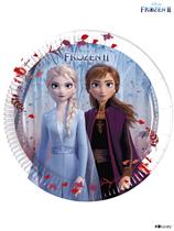 Disney Frozen 2 Medium 20cm Paper Plates 8pk