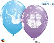"Disney Frozen 2 Printed 11"" Latex Balloons 6pk"