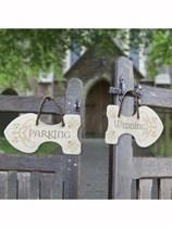 Rustic Wedding Arrow Signs 6pk