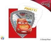 Disney Cars 3 Invitations & Envelopes 6pk