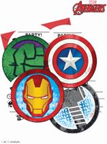Marvel Avengers Invitations & Envelopes 6pk