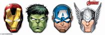 Marvel Avengers Party Masks 6pk