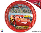 Disney Cars 3 Paper Plates 8pk