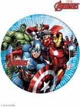 Marvel Avengers 23cm Paper Plates 8pk