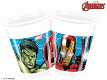 Marvel Avengers 200ml Plastic Cups 8pk