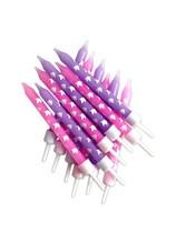 Pink & Lilac Unicorn Candles 12pk