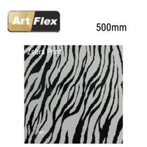 Artflex Zebra Garment Vinyl 500mm