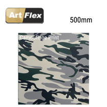 Artflex Camouflage Garment Vinyl 500mm