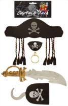 Captain Jack Pirate Set - Adult