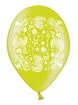 Happy 3rd Birthday Assorted Latex Balloons 10pk