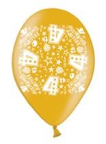 Happy 4th Birthday Assorted Latex Balloons 10pk