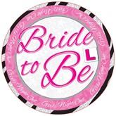 Bride to Be Big Badge