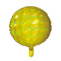 """Sensations Iridescent Gold 18"""" Round Foil Balloo"""