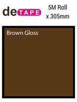 DeTape 440 Brown Gloss Vinyl 305mm x 5M