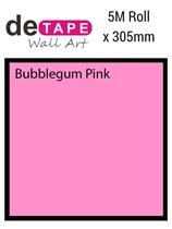DeTape Bubblegum Pink Matt Vinyl 305mm x 5M