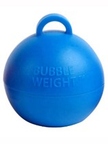 Blue Bubble Balloon Weight