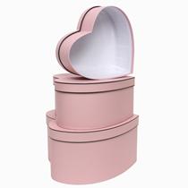 Pink Heart Shaped Box Set (3pk)