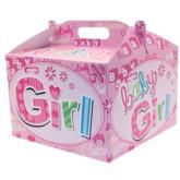 Baby Girl Carry Handle Balloon Box