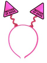 Hen Party Mother of the Bride Pink Head Bopper