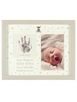 Bambino by Juliana Baby Hand Print and Photo Frame