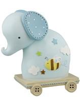 Blue Elephant Money Box Gift