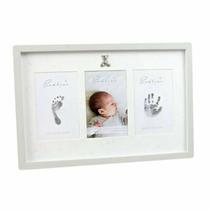 Bambino by Juliana Baby Photo, Hand & Foot Print Frame