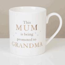Bambino Bone China Mug - Mum Promoted To Grandma