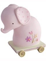 Pink Elephant Money Box Gift