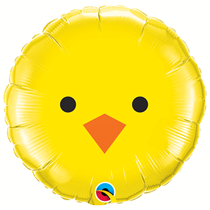 Easter Chick 18 inch Foil Balloon Party Decoration