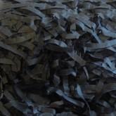 Black Shredded Tissue Paper