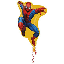 """Spiderman 26"""" Large Shaped Foil Balloon (Loose)"""