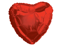 "Red Love Heart 32"" Foil Balloon"