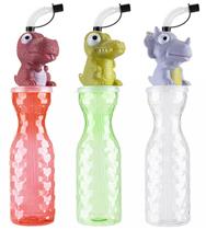 Dinosaur patterned water bottle