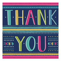 Thank You Cards with Envelopes