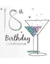 18th Birthday Invitations & Envelopes 6pk