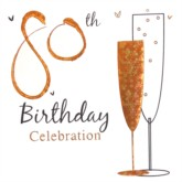 80th Birthday Party Invitations with Envelopes - 6pk