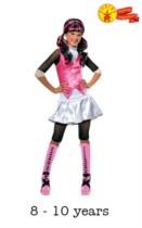 Children's Monster High Draculaura Fancy Dress Costume 8 - 10 yrs