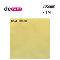 DeTape Gold Chrome Vinyl 305mm x 1M