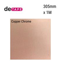 DeTape Copper Chrome Vinyl 305mm x 1M