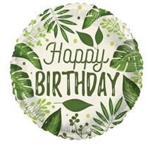 "ECO ONE - Happy Birthday Nature 18"" Foil Balloon"