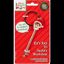 Elves Behavin' Badly Elf's Key To Santa's Workshop