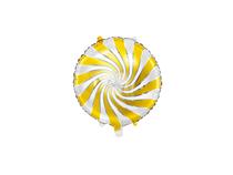 "Gold Candy Swirl 14"" Foil Balloon"