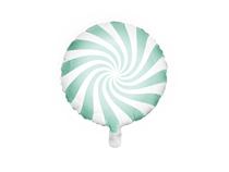 "Mint Candy Swirl 18"" Foil Balloon"