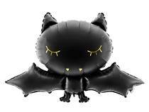Halloween Black Bat 52cm Foil Balloon