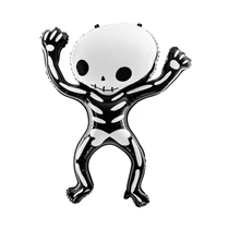 "Halloween Dancing Skeleton 33"" (83cm) Foil Balloon"