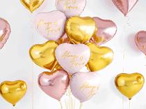 "Always & Forever Pink Foil Heart 18"" Balloon"
