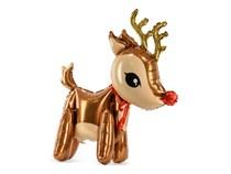 "Christmas Reindeer 24.5"" Foil Balloon"